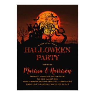 retro halloween invitations retro invites