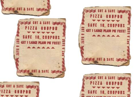 Pizza Coupons – Buy 10 Get a Free Pizza