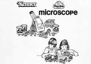 I never did get that Play-Doh Microscope Set