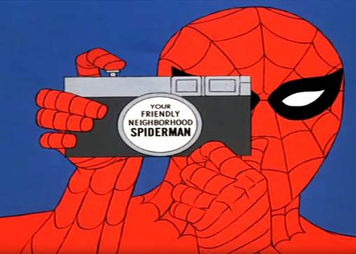 Listen to over an hour of background music from the 1967 Spider-Man Animated Series