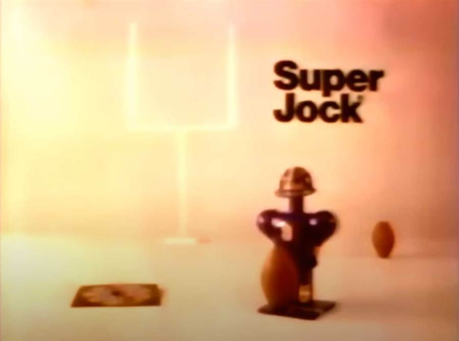 Super Jock Toys made for great weapons of war