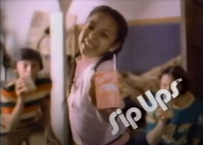 Do you remember Sip Ups?