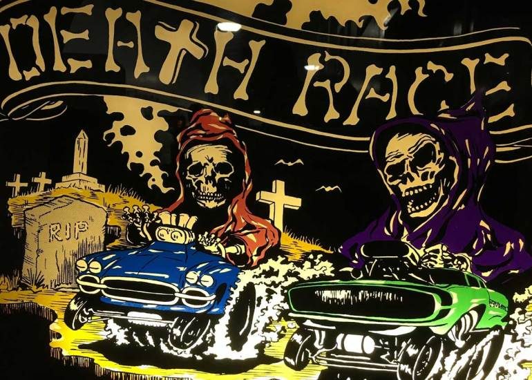 Death Race Video Game Controversy - The Retroist