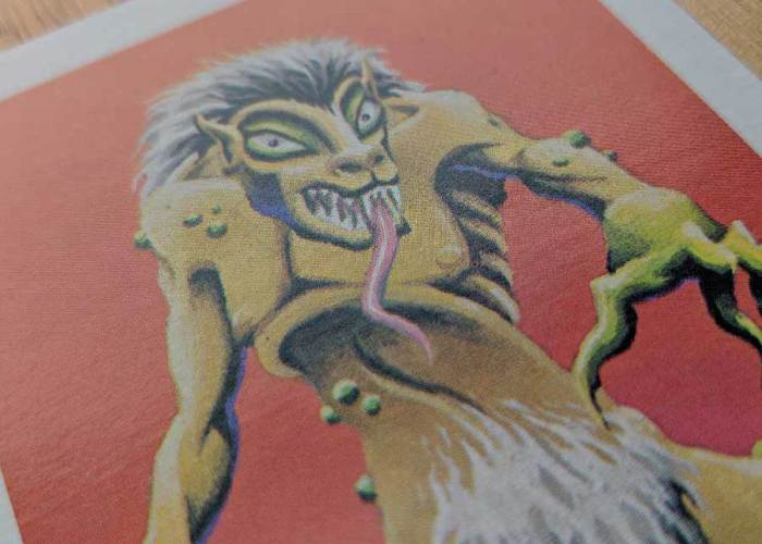 Dungeons & Dragons Monster Cards – Ghoul