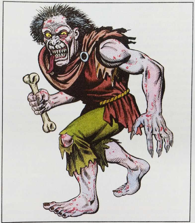Dungeons & Dragons 2nd Edition Monster Manual - Ghoul