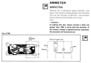 RA28 Ammeter wiring help