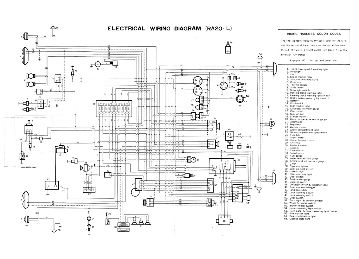 Chassis Electrical Diagram