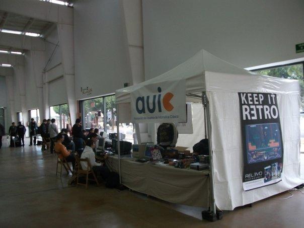 Expositor en Expogamer 2009