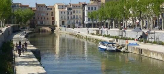 Le canal de la robine à Narbonne