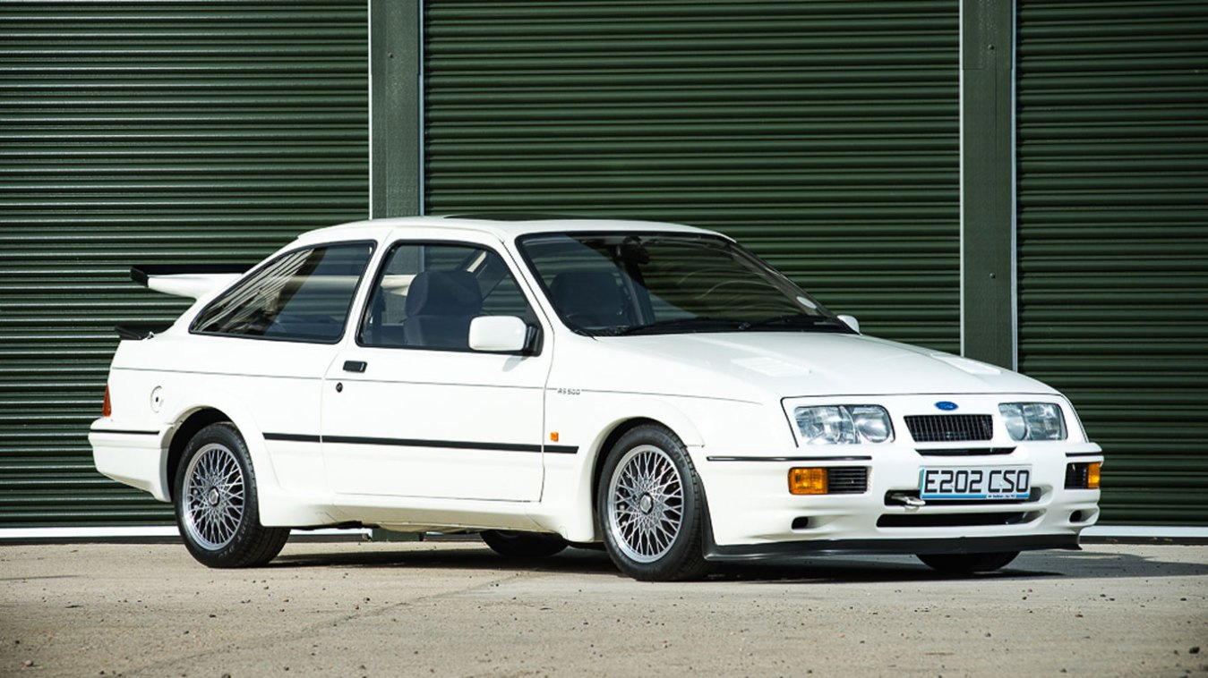 Ford Sierra Cosworth RS500: £112,500