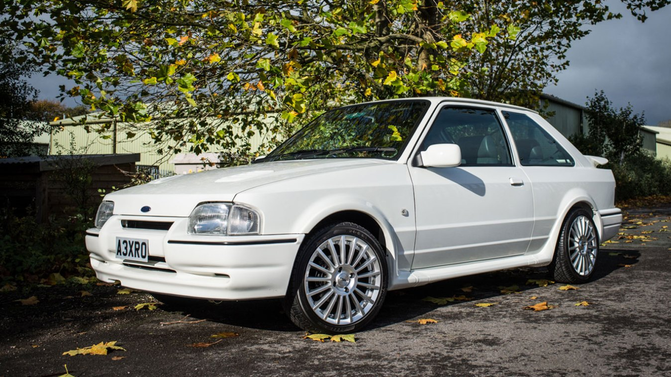 Ford Escort XR3i: £27,000