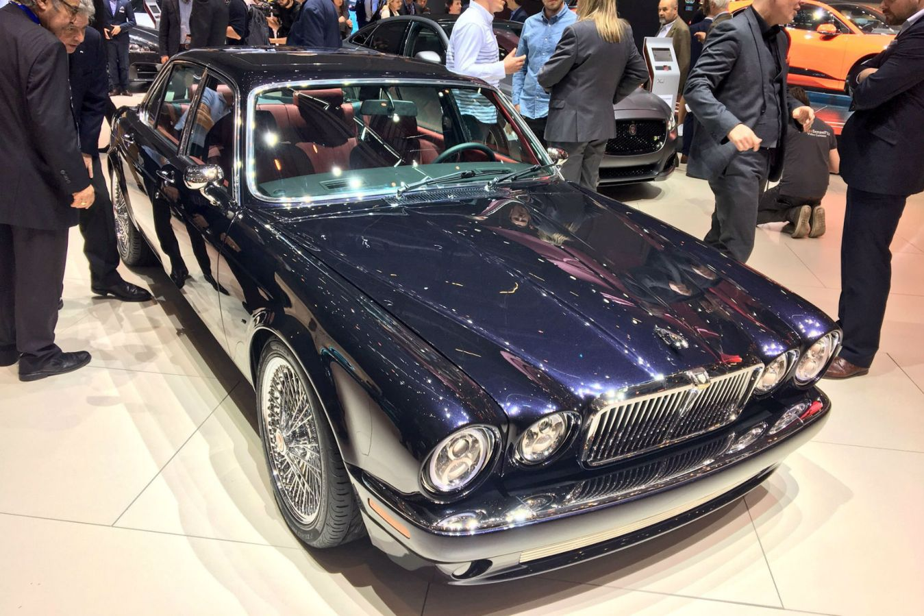 Iron Maiden drummer's Jaguar XJ6 is the coolest thing at the Geneva Motor Show