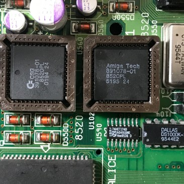 Amiga 4000T Motherboard CIA Chips