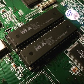 Amiga 1200 ROM Socket Replacement