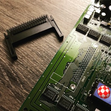 Amiga 600/1200 PCMCIA Socket replacement