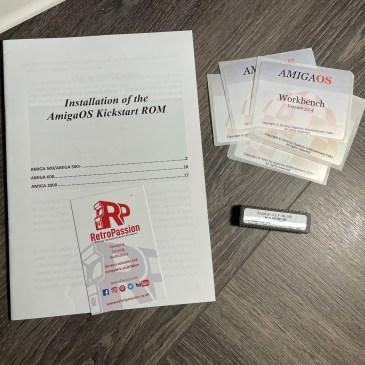 AmigaOS 3.1.4 / 3.2 Amiga A500 / A600 / A2000