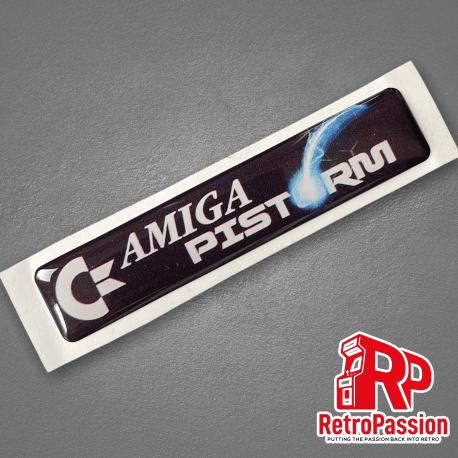 Amiga 500 Case Badge - PiStorm Commodore