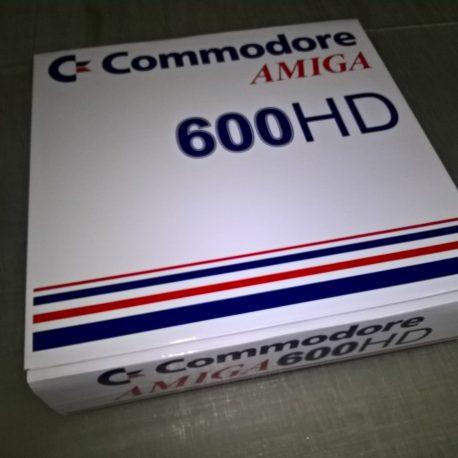 Amiga 600HD Reproduction Box