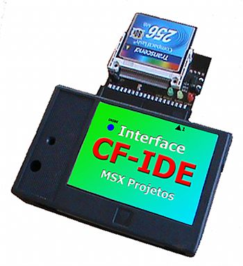 carchano_ide Cartucho de Interface IDE para MSX