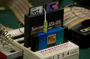 300px-Sunrise_MP3_player_cartridge Lista de Interfaces e Dispositivos para MSX