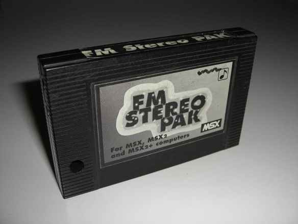800px-Checkmark_FM_Stereo_Pak Lista de Interfaces e Dispositivos para MSX