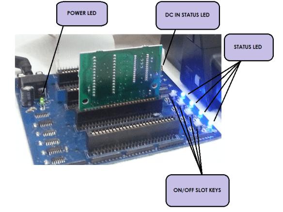 Detalhe-led-Expansor Lista de Interfaces e Dispositivos para MSX