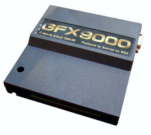 GFX9000_3 Lista de Interfaces e Dispositivos para MSX