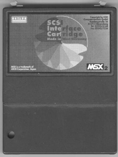 HSH_SCSI-interface_version_1_front Lista de Interfaces e Dispositivos para MSX