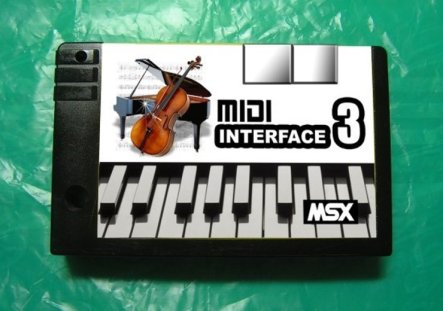 msxmidi1 Lista de Interfaces e Dispositivos para MSX