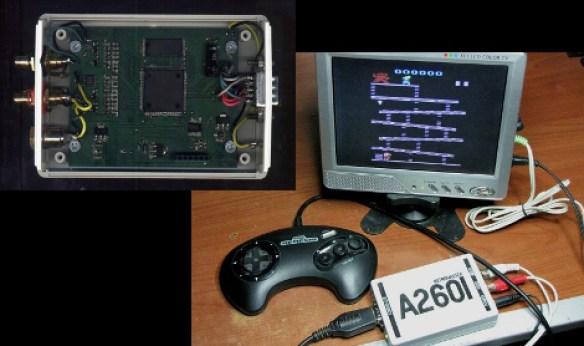 fpga-atari2600 FPGA uma Super Solução em Retrocomputação