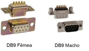 Conectores-DB9-Macho-e-Femea Conectores DB9 Macho e Femea