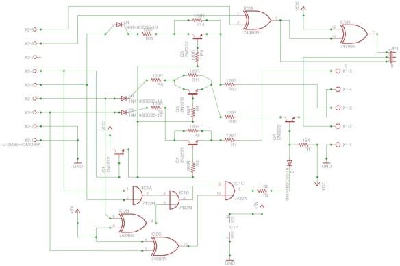 diagrama-rgbi2rgba Como Converter Sinal da placa CGA do PC-XT usando a placa GBS 8200