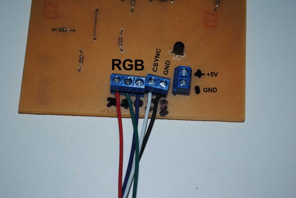 placa-rgbi2rgba-3 Como Converter Sinal da placa CGA do PC-XT usando a placa GBS 8200