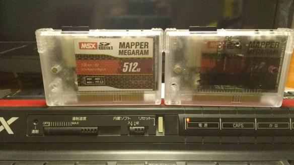 msxmegamappersd MSX Expert inicializando sem Memória interna