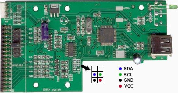 PinOut-v1-aminet Mod para o Floppy Drive Gotek com Cortex