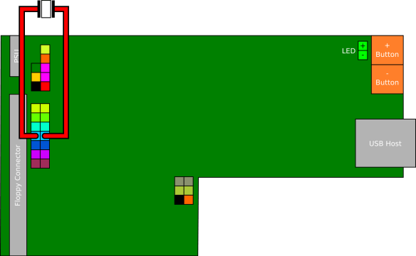piezo Mod para o Floppy Drive Gotek com Cortex