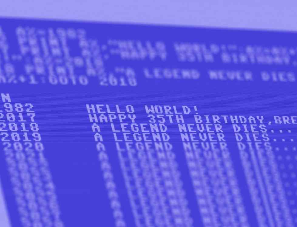 hbcbild - Der Monat des Commodore64