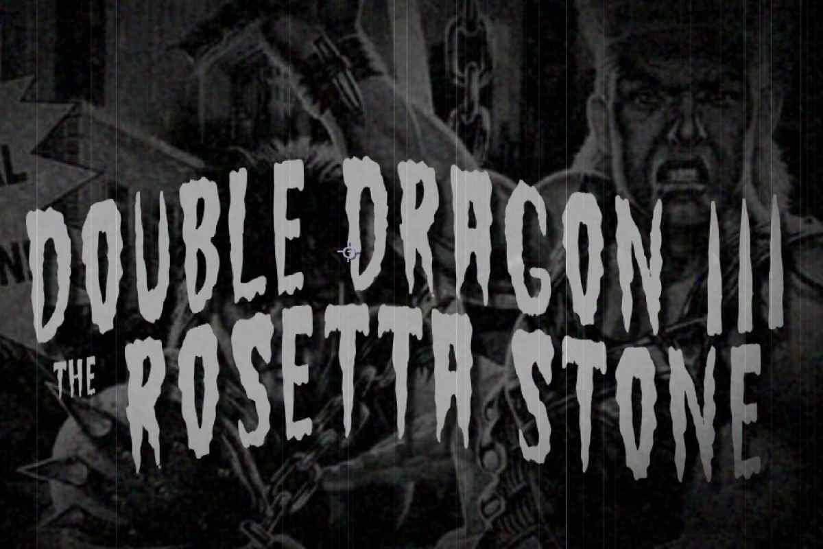 Double Dragon III – The Rosetta Stone (Sega Mega Drive, 1992)