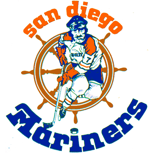 San Diego Mariners logo from 1975-1977
