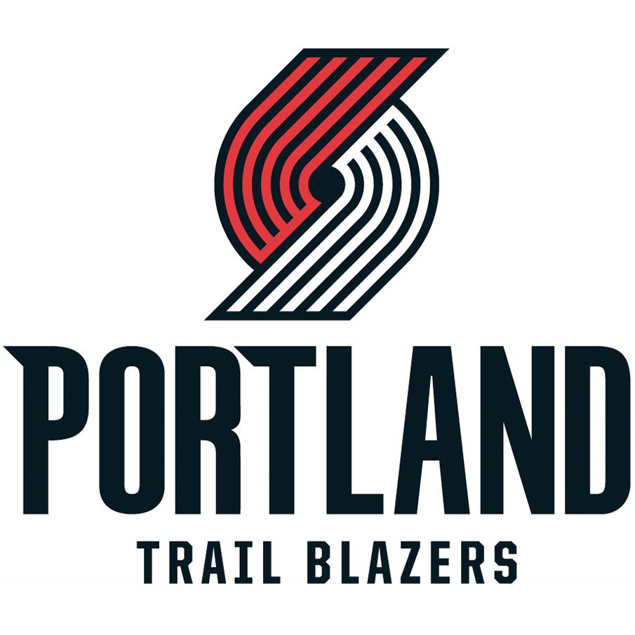 Portland Trail Blazers logo from 2018-