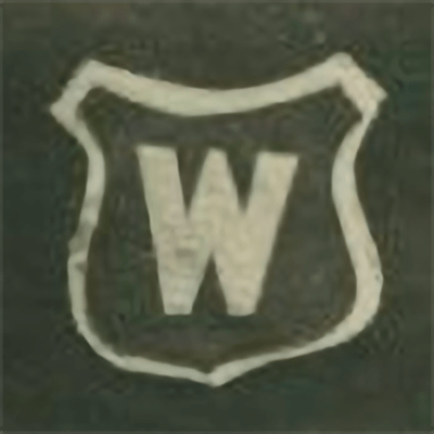 Montreal Wanderers logo from 1884-1884