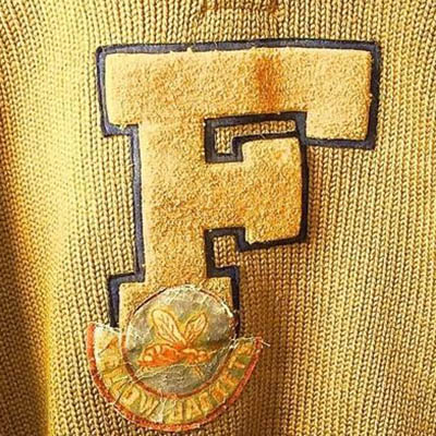 Frankford Yellow Jackets logo from 1924-1926