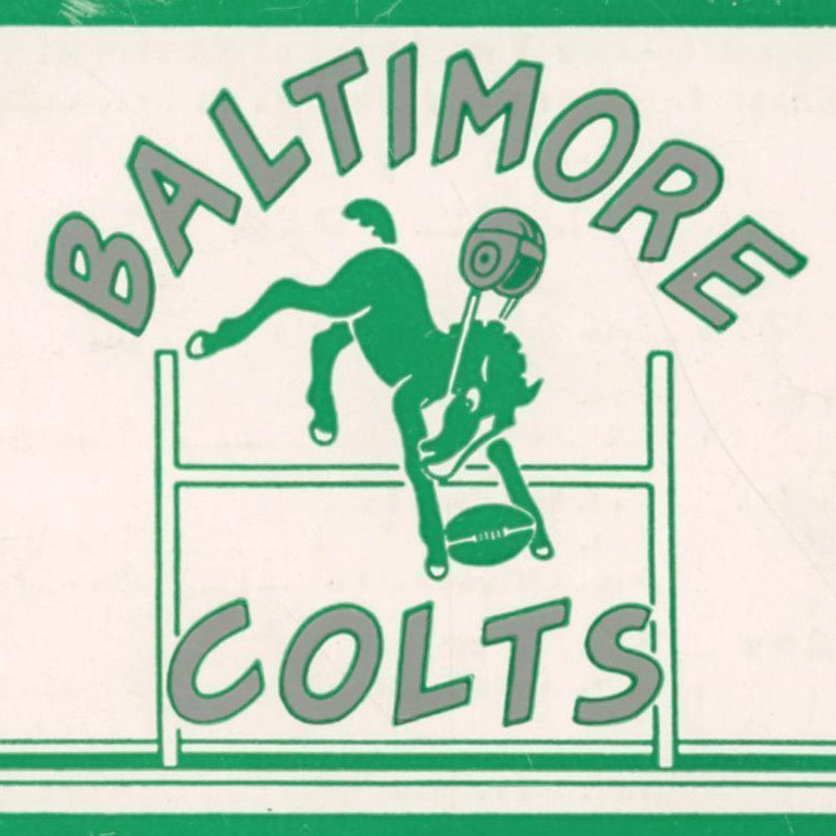 Baltimore Colts logo from 1947-1950