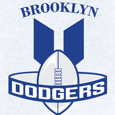 Brooklyn Dodgers logo from 1946-