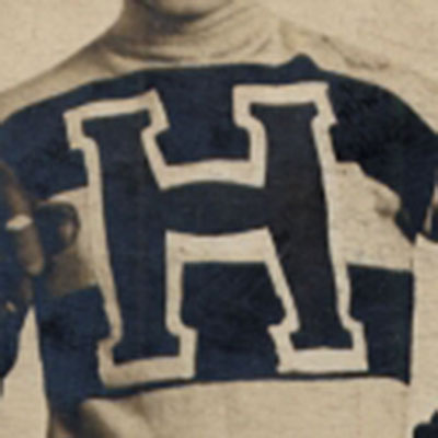 Haileybury Comets logo from 1906-1911