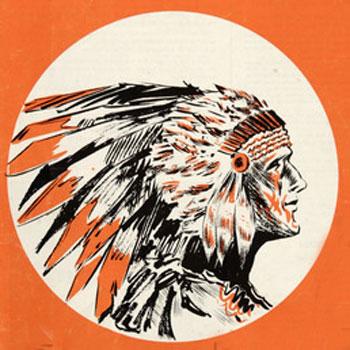 Long Beach Chiefs logo from 1963-1963