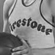 Akron Firestone Non-Skids logo from 1936-1941
