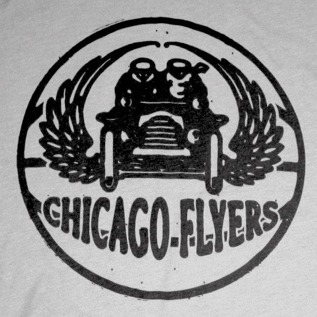 Chicago Studebaker Flyers logo from 1943-1943