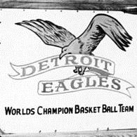 Detroit Eagles logo from 1940-1941