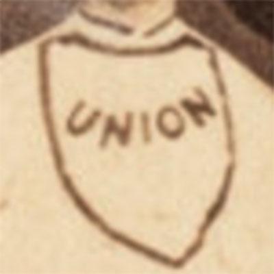 Morrisania Union logo from 1855-1866
